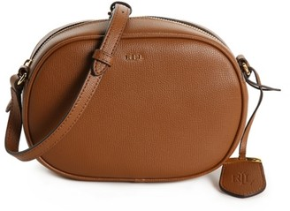 Lauren Ralph Lauren Calderwood Leather Crossbody Bag