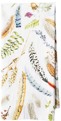 Juliska Forest Walk Tea Towel - White