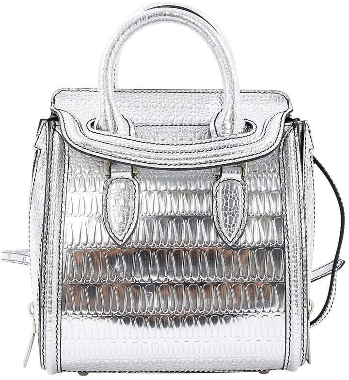 Alexander McQueen Patent leather crossbody bag