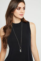 BCBGeneration Shine On Long Necklace - Silver