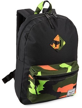 Herschel Camo Heritage Youth Backpack