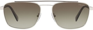 Prada Vintage Aviator Sunglasses