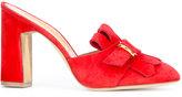 Rupert Sanderson slip-on mules - women - Leather/Suede - 36