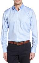 Peter Millar Men's Big & Tall Crown Soft Regular Fit Pinpoint Sport Shirt