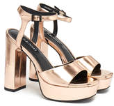 Senso Pandy Copper Platform Heel Sandal