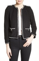 The Kooples Women's Contrast Piping Jacket