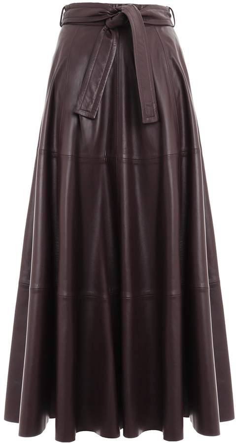 Zimmermann Resistance Leather Skirt
