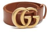 Gucci G-logo 4cm leather belt