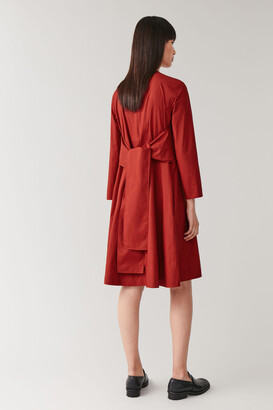 Cos Belted A-Line Dress