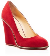 Charlotte Olympia Carmen Wedge Pumps