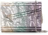 Jimmy Choo Candy clutch - women - Leather/Acrylic/Metal (Other) - One Size