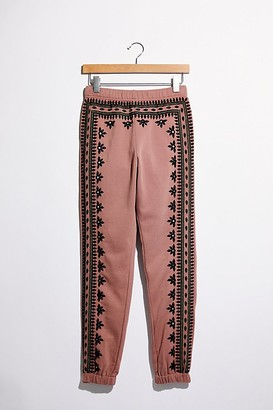 Free People Fez Embroidered Harem Pants