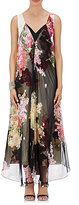 Lanvin Women's Chiffon-Overlay Maxi Dress-BLACK