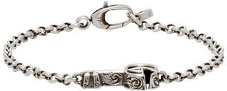 Gucci Silver Key Double G Bracelet