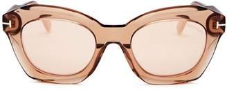 Tom Ford Women's Bardot Oversized Square Sunglasses, 53mm