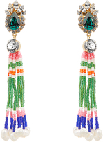 Shourouk Mambo tassel earrings