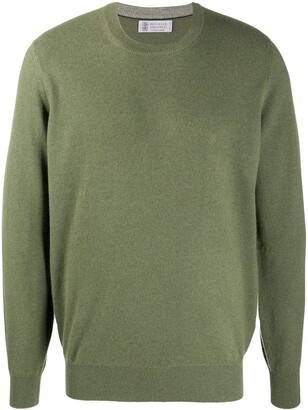 Brunello Cucinelli Classic Crew-Neck Sweater