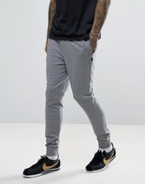 Luke 1977 Honey Mario Cuffed Joggers In Grey Marl