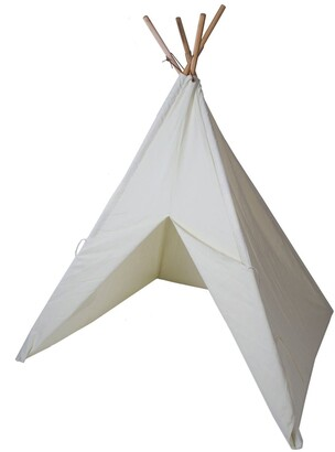 Pacific Play Tents Cotton Canvas Tent with Paint Set