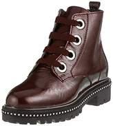 Premio Women's 25126 31 Combat Boots, Black (Black Patent 018)