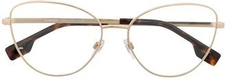 Burberry Cat-Eye Frame Glasses
