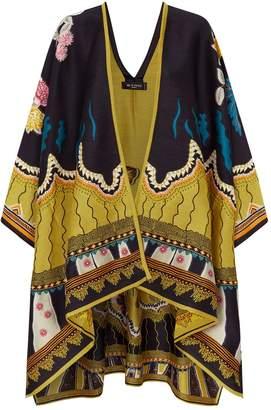 Etro Draped Floral Coat
