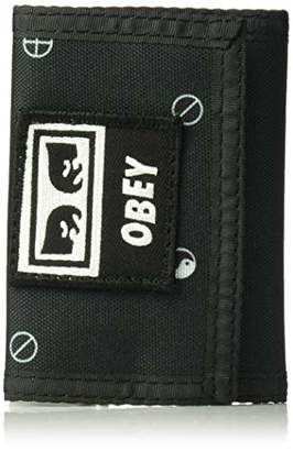 Obey Men's Dropout TRI FOLD Wallet