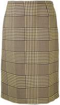 Mary Katrantzou Prince of Wales checked skirt