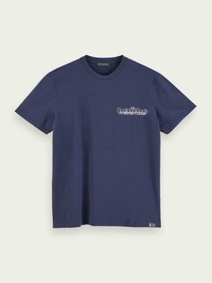 Scotch & Soda 100% cotton logo t-shirt | Men