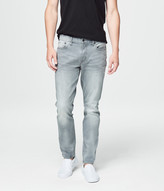 Skinny Light Grey Wash Reflex Jean