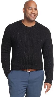 Van Heusen Big & Tall Flex Classic-Fit Crewneck Sweater