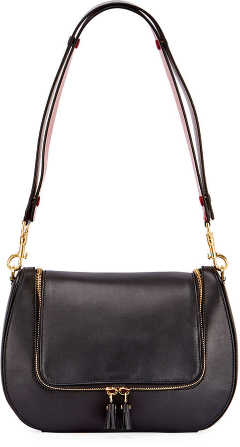 Anya Hindmarch Vere Satchel Bag, Black