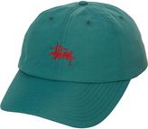 Stussy Taslon Basic Low Pro Strapback Cap Green