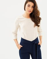 Only Ylva Woven Top