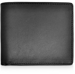 Royce New York Leather Rfid-Blocking Id Flap Bifold Wallet