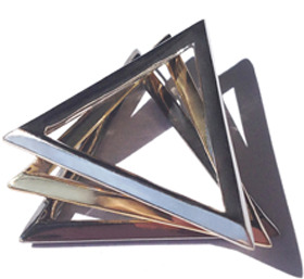 TRUNFIO Open Pyramid Ring