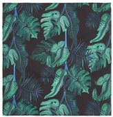 Topman Tropical Print Liberty Fabric Pocket Square