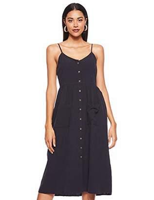 Vero Moda Women's Vmwanda Strap Button Midi Dress,Small