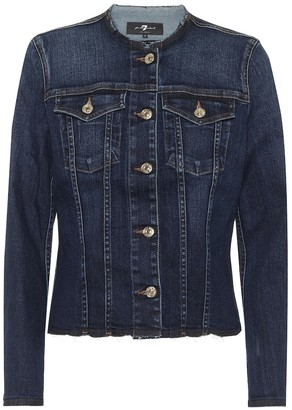 7 For All Mankind Soho Dark denim jacket