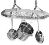Cuisinart Brushed Stainless Steel Octagonal Hanging Pot Rack