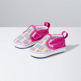 Vans Infant Rainbow Slip-On V Crib