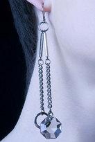 Silver Chain Drop Earring