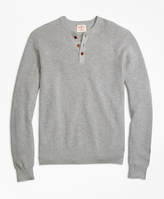 Brooks Brothers Cotton Henley Sweater