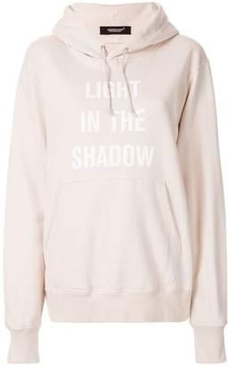 Undercover logo hoodie