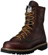 "Georgia Boot Men's 8"" Lace-to-toe Steel Toe Work Boot"