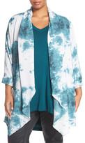 Melissa McCarthy Print Kimono (Plus Size)