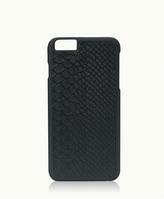 GiGi New York iPhone 6/6s Plus Hard-Shell Case Navy Embossed Python