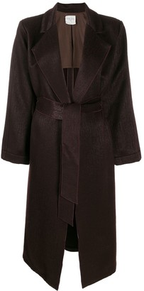 Forte Forte Belted Single Breasted Coat