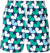 Kiton stars print swim shorts - men - Polyester - M