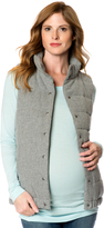 A Pea in the Pod Quilted Puffer Maternity Vest